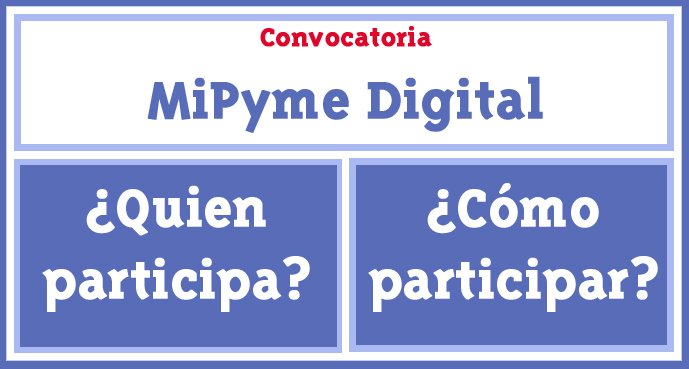 Convocatoria MiPyme Digital