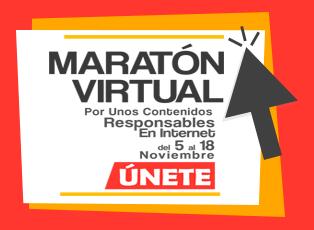 Maratón Virtual Contenidos Responsables en Internet