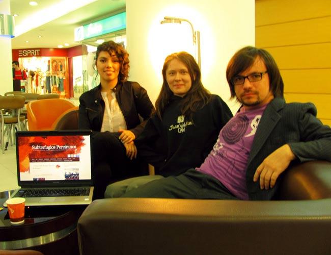 Subterfugios Pereiranos. María Paz Muñoz, Andrea Oliveros y Jhon Manuel Daza