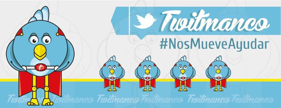 TwitMan #NosMueveAyudar
