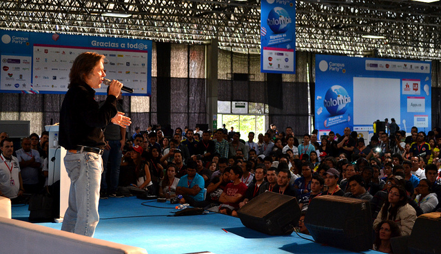 Bruce Dickinson en Campus Party Colombia
