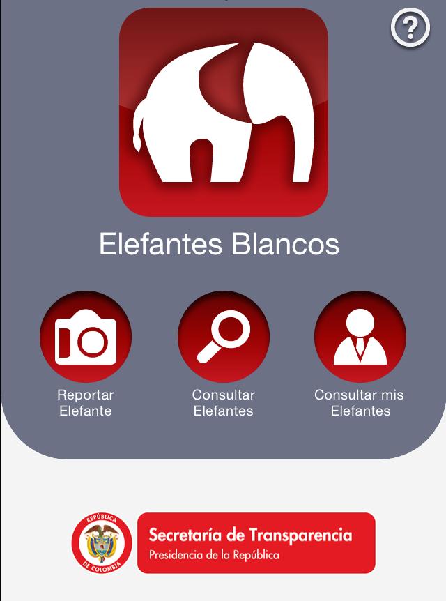 Aplicación Elefantes Blancos