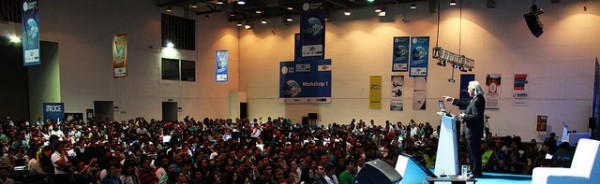 Michio Kaku en Campus Party Colombia