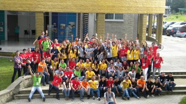 Fotografía de los Asistentes al StartApps Academic de la Universidad Tecnológica de Pereira.