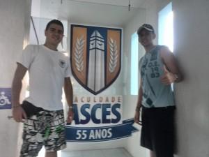 David Correa y Julian Manrique