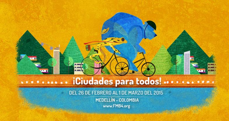 Director del Programa C.D.R. en el 4to Foro  Mundial de la Bicicleta.