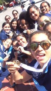 Equipo Fútbol Femenino UTP - Campeonas Zonal 2015