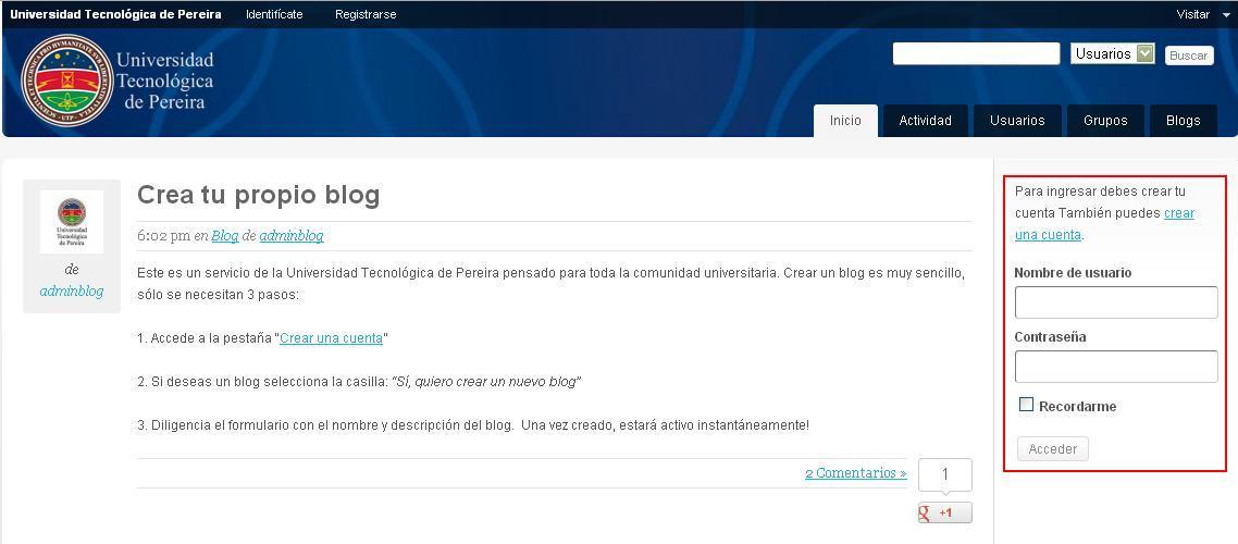 blogUTP