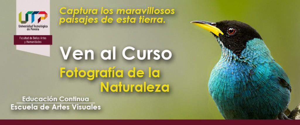 Invitación Curso Fotografía de la Naturaleza