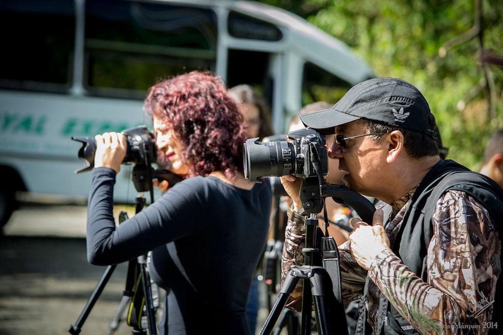 Estudiantes del Curso Fotografía de la Naturaleza Edición 2014