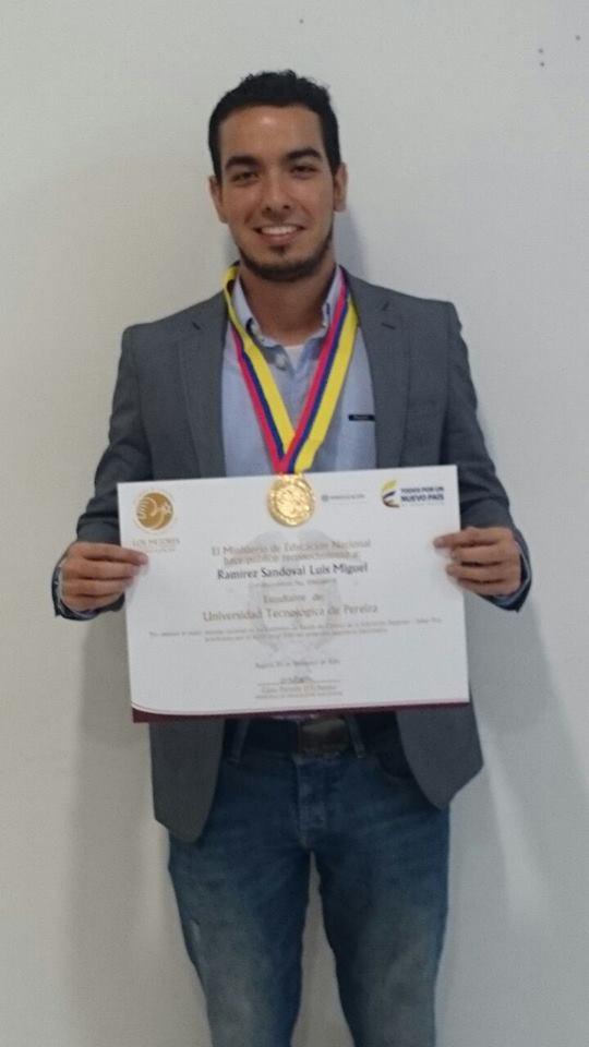 Luis Miguel Ramirez Sandoval de Ingeniería Electrónica