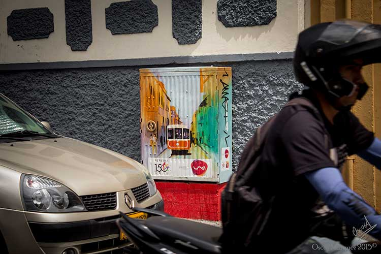 Un día de Tránsito Normal en las Calles de Pereira