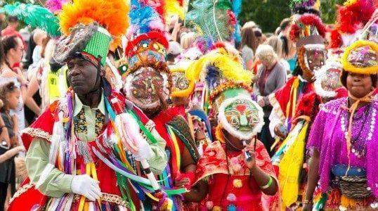 Lista de los mejores carnavales del mundo