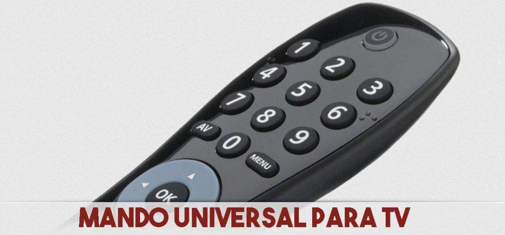 mando universal para tv