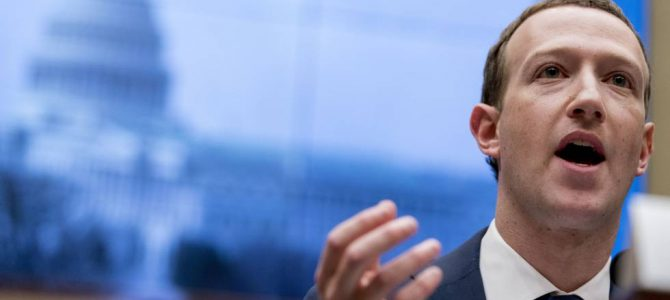 Mark Zuckerberg defiende los planes de divisas Libra de Facebook ante el Congreso