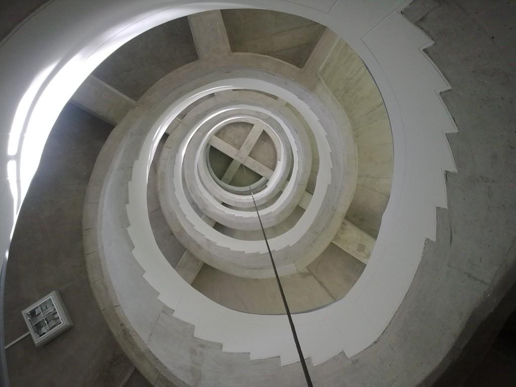 Escalera de caracol bloque Y