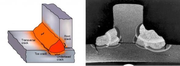 1.4 Micro fracturas superficiales e internas