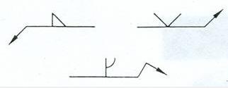 Figura 3.2.b.Soldadura en la zona opuesta del punto de contacto de la flecha.