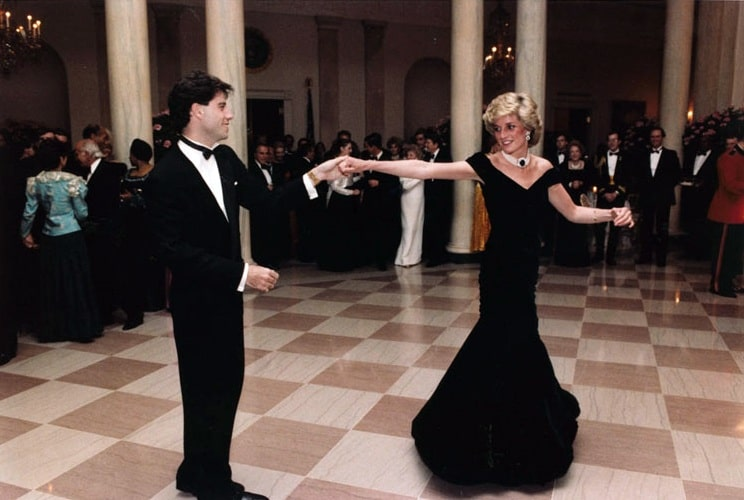 La exposición de moda de la princesa Diana